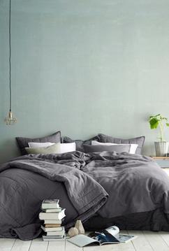 Groen is een prachtige kleur voor de slaapkamer! Ga naar Woonblog ...
