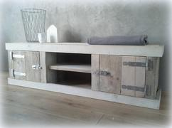 Tv Kast Steigerhout : Tv meubel van steigerhout u leo s all in service leo s all in service