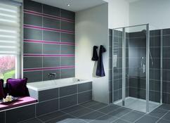 Grote tegels badkamer badkamer andagames