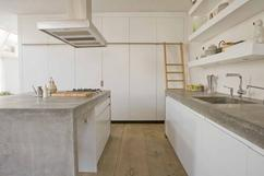 Keuken Van Beton : Aanrechtbladen grijs beton solidus meubelen