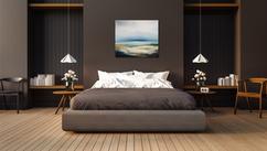 Doen twee stijlvolle zwart wit schilderijen boven je bed roomed