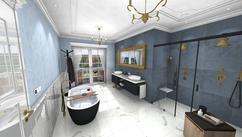 Badkamer Plafond Ideeen : Laminaat plafond badkamer