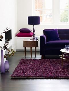 Collectie: Kleur in het interieur: Paars, verzameld door Tamara op ...
