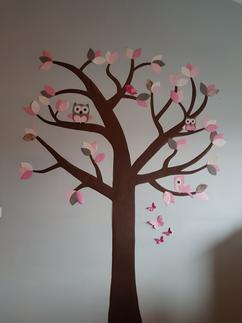 Roze Muurdecoratie Kinderkamer.Collectie Muurdecoratie Babykamer Verzameld Door Kidzbrand