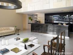 Woonkamer Zwarte Keuken : Woonkamer zwarte keuken eigentijdse houten keuken grijs witte