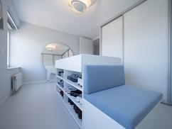 Kleedkamer In Slaapkamer : Collectie: gietvloer in slaapkamer verzameld door motionvloer bv op