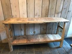 Side Table Oud Teak.De Leukste Ideeen Over Oud Hout Sidetable Vind Je Op Welke Nl