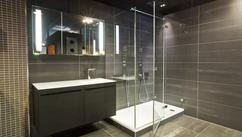 Amazing badkamer met inloopdouche inspiratie ideeën huis