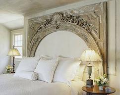 Hoofdbord bed hout. perfect cheap beautiful de mooiste hoofdborden