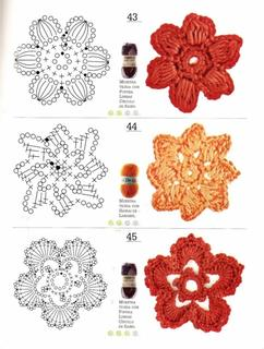 Collectie Bloemen Haken Verzameld Door Monique202 Op Welkenl