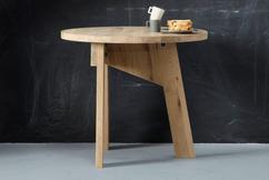 Ronde Tafel Hout : Ronde tafel conferentie enorm ronde eettafel wit hout knus