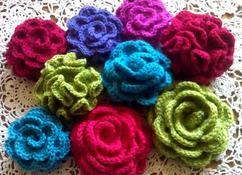 Collectie Bloemen Haken Verzameld Door Donatella Op Welkenl