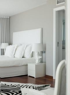 slaapkamer grijs zebra