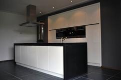Mooie zwart witte keuken interieur inrichting zwart wit keuken
