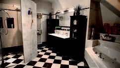 Badkamer Bad Afmetingen : Badkamer ideeen inloopdouche met houten vloeren eindhoven elegant