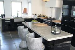 Beton Keuken Stoere : Eiken keuken met betonnen blad solidus meubelen
