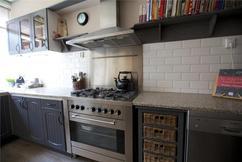 Zwart Keuken Fornuis : Kijkje in de keuken fris exclusief falcon fornuis uitgevoerd in de