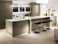 Landelijk Keuken Strakke : Moderne keuken met kookeiland vri interieur exclusieve landelijk