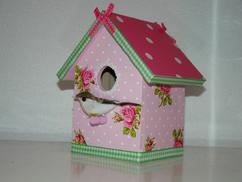 Kinderkamer Behang Vogelhuisjes : Vogelhuis op canvas behang en meer bestellen