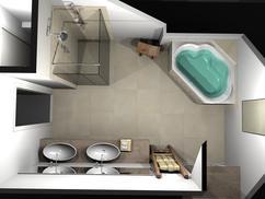 Chique Badkamer Ontwerp : Grote badkamer stijlbewust ontwerpen en inrichten villeroy boch