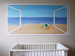 Muurschilderingen Voor Slaapkamer : Muurschilderingen babykamer beste ideen over huis en interieur