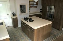 Foto s van nieuwe keuken