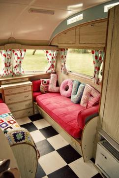 Collectie: Leuke ideeën voor het inrichten van de caravan, verzameld ...
