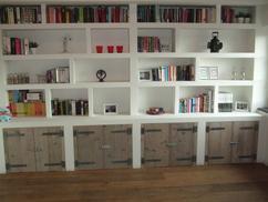 Woonkamer Met Boekenkast : Woonkamer meubels archiefkast massief houten boekenkast china