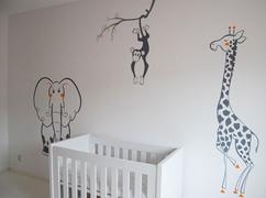 Kinderkamer Ideeen Dieren : Kinderkamer versiering beste van babykamer tweeling ideeen
