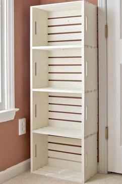 mooi en simpel deze boekenkast