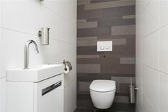 Kleur toilet idee tegels cuijk elegant castle stones bricks kleur