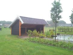Tuin Met Overkapping : ≥ douglas tuin overkapping veranda s en overkappingen