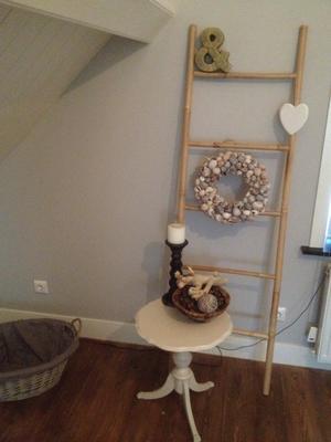 Leuke ladder van xenos ter decoratie in de slaapkamer. Ik heb er een ...