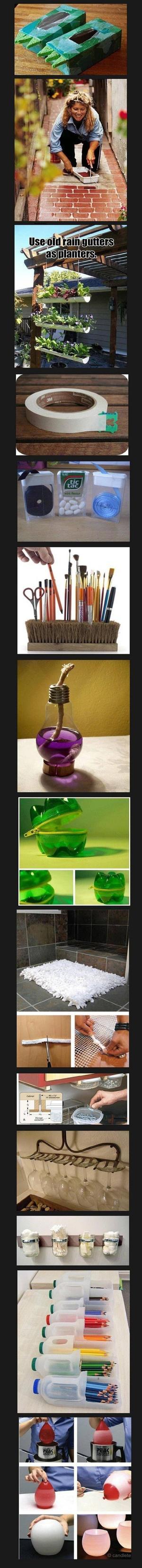 Leuke ideetjes met kosteloos materiaal. foto geplaatst door delfi ...