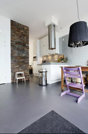 Awesome Betonverf Woonkamer Contemporary - Modern Design Ideas ...