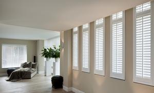 Zonwering en raamdecoratie met luxe shutters met shutters maak je