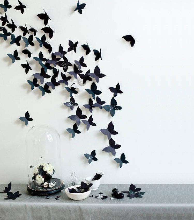 Muurdecoraties Voor Buiten.Artikel Zelf Maken Op Zaterdag Vlinders Als Muurdecoratie Op Welke Nl
