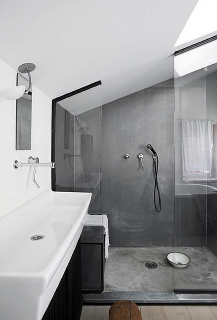 artikel 7 voorbeelden van beton look in de badkamer op welke