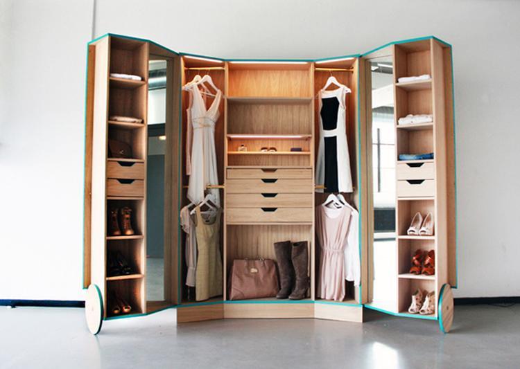 Inloopkast Walk In Closet.Artikel Walk In Closet Van Hosun Ching De Inloopkast Die Overal
