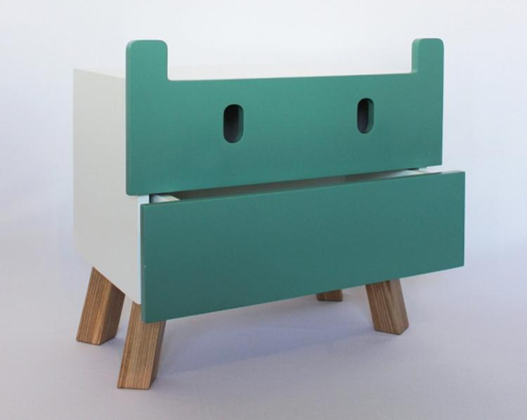 Kinderkamer Kasten Mostros : Artikel: een collectie lieve monsterkasten voor de kinderkamer op