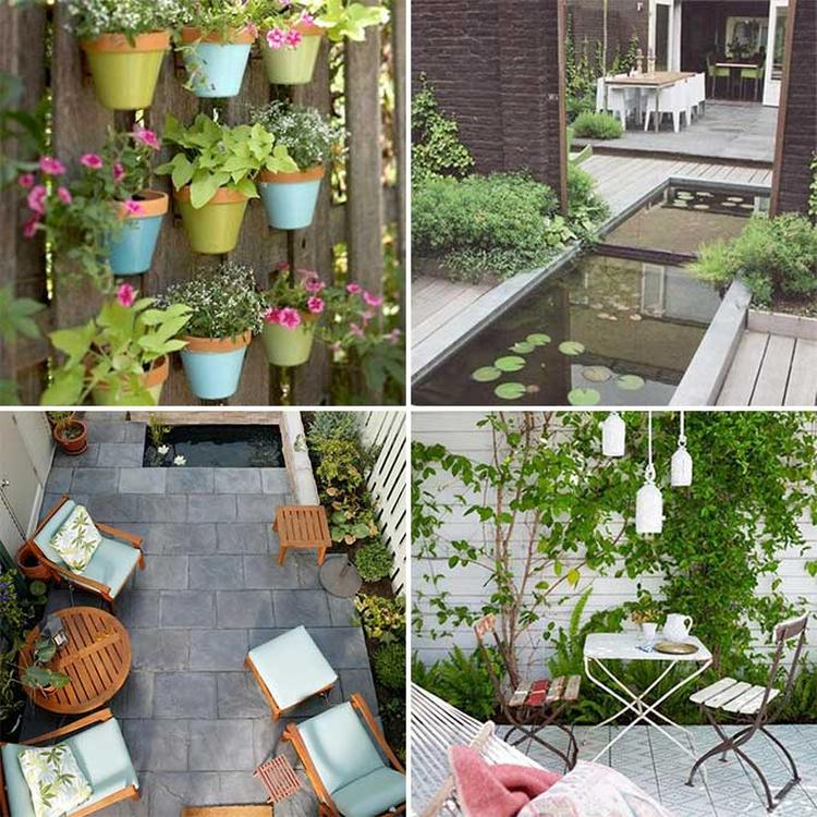 Genoeg Artikel: Inspiratie en tips voor het inrichten van de kleine tuin &TV69
