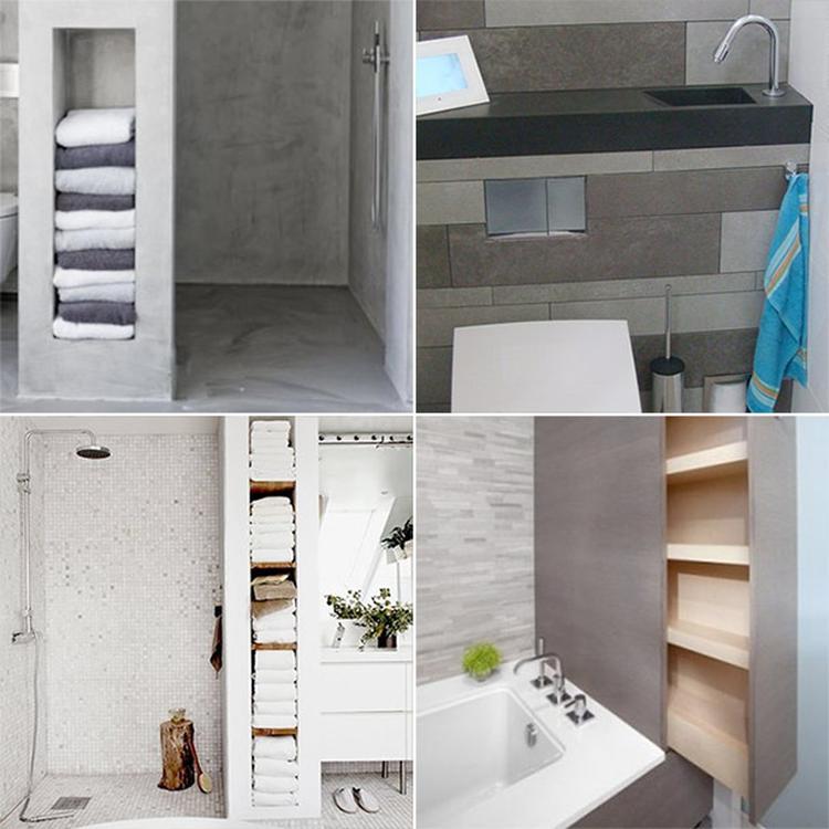 10x ruimte besparen in de badkamer for Badkamer ruimte
