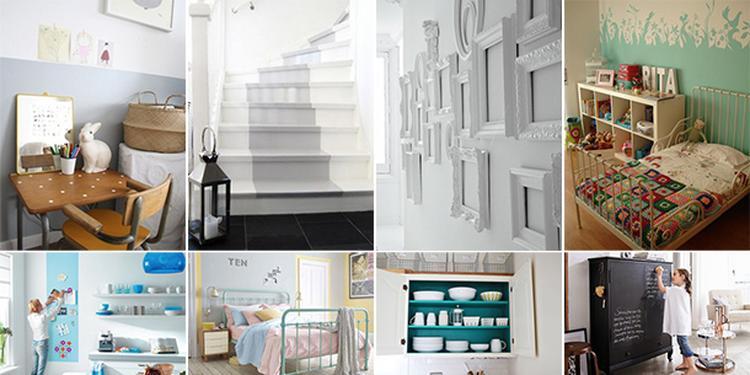 Artikel: 15 leuke ideeën voor jouw interieur met de verf van Gamma ...