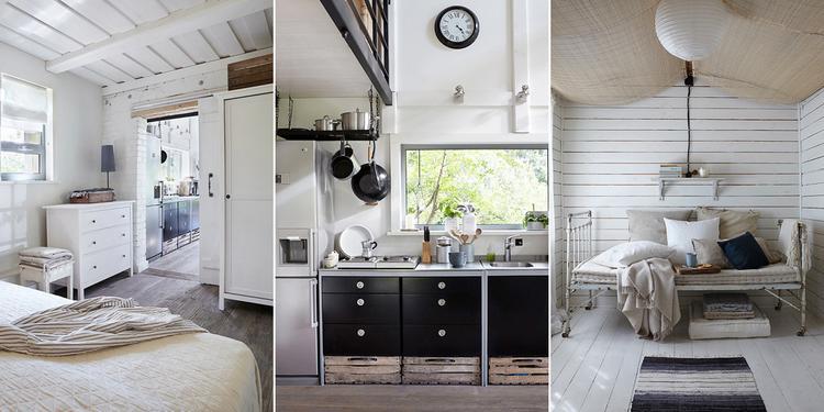 Artikel: Poolse cottage met een industrieel interieur op Welke.nl