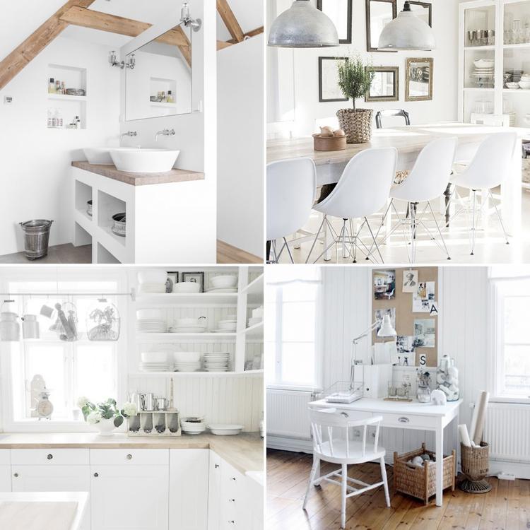 wonen in een sfeervol wit interieur